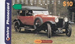 Australia, N973723a,  Motor Cars 97, Delage, 2 Scans. - Australien