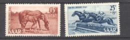Sarre  :  Yv  253-54  * - 1947-56 Occupation Alliée