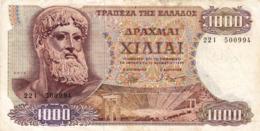 "GREECE 1000 DRACHMAI 1970 F P-198b ""free Shipping Via Regular Air Mail (buyer Risk)"" - Griechenland"