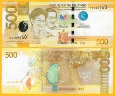 Philippines 500 Piso P-210 2014 UNC Banknote - Philippines