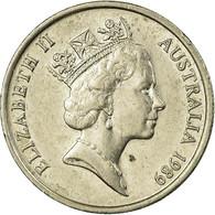 Monnaie, Australie, Elizabeth II, 5 Cents, 1989, TTB, Copper-nickel, KM:80 - 5 Cents