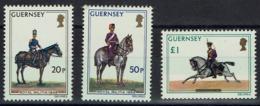 Großbritannien-Guernsey 1975 - Militäruniformen - MiNr 118-120** - - Guernsey