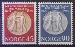 NORWEGEN 1959 Mi-Nr. 434/35 ** MNH - Norwegen