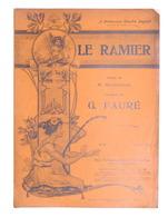 Spartito - G. Faurè - Le Ramier - The Gramophone Company N. 25 - Ed. 1904 - Vecchi Documenti