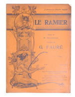 Spartito - G. Faurè - Le Ramier - The Gramophone Company N. 25 - Ed. 1904 - Documentos Antiguos