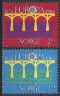 NORWEGEN 1984 Mi-Nr. 904/05 ** MNH - Norwegen