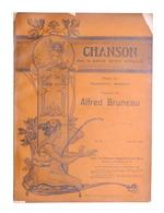 Spartito - Bruneau - Chanson De S'amie - The Gramophone Company N. 10 - Ed. 1904 - Vecchi Documenti