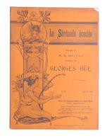 Spartito - G. Hue - La Serenade écoutée - The Gramophone Company N. 24 Ed. 1904 - Vecchi Documenti