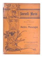Spartito - Mascagni - Stornelli Marini - The Gramophone Company N. 8 - Ed. 1904 - Vecchi Documenti