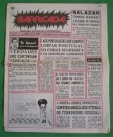 Lisboa - Portugal - Jornal Barricada Nº 185 De Maio De 1979 - República Portuguesa  Imprensa - 25 De Abril - PREC - Algemene Informatie