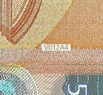 NEW - VB - V012A4 - 50 EURO - DRAGHI - VB2401698511 - UNC - FDS - EURO