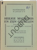 EDINGEN/Hove/Opzullik Heilige Mauritius 1935  (R279) - Vecchi
