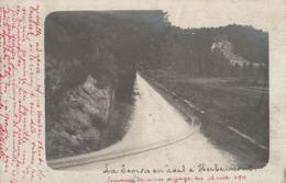 Carte Photo 1911 - La Semois  En Aval D'Herbeumont ( Légèrement Croquée En Haut ) - Lieux