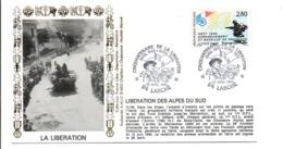 50 ANS LIBERATION DE LARCHE BASSES ALPES - Guerre Mondiale (Seconde)