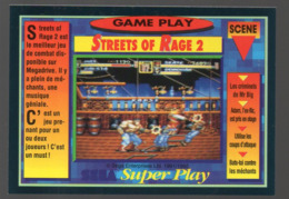 Carte PANINI  GAME PLAY  N°96 STREETS OF RAGE 2  (PPP20596) - Trading Cards