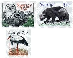 Ref. 32936 * MNH * - SWEDEN. 1997. NORDIC FAUNA . FAUNA NORDICA - Pájaros