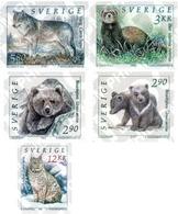 Ref. 29502 * MNH * - SWEDEN. 1993. WILD FAUNA . FAUNA SALVAJE - Osos