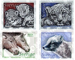 Ref. 63571 * MNH * - SWEDEN. 1997. NORDIC FAUNA . FAUNA NORDICA - Caballos