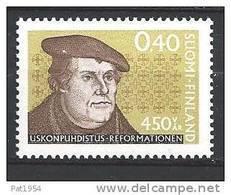 Finlande 1967 N°599 Martin Luther - Ungebraucht