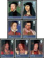 GRANDE-BRETAGNE Monarchie Stewarts, James 7v 2010 Neuf ** MNH - 1952-.... (Elizabeth II)