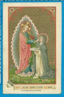 Holycard    Van De Vyvrere - Petyt   St. Lucia Casta - Images Religieuses