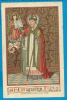 Holycard    Van De Vyvrere - Petyt   St. Augustin - Imágenes Religiosas