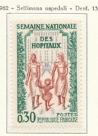 PIA  - FRANCIA  -  1962  : Settimana Nazionale Degli Ospedali - (Yv  1339) - Medicina