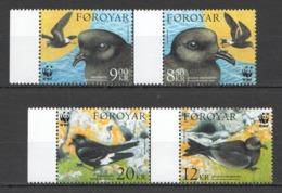 A638 2005 FAROE FOROYAR WWF FAUNA BIRDS 1SET !!! MICHEL 13,5 EURO !!! MNH - W.W.F.