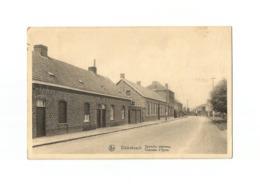 Dikkebusch  -  Ypersche Steenweg - Chaussée D'Ypres (1955). - Ieper