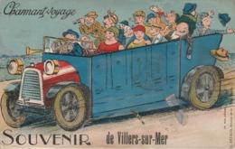 VILLERS Sur MER - Carte à Système ( 10 Minivues ) - Villers Sur Mer
