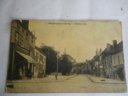 Carte Postale    Vendeuvre  Sur Barse / Grande Rue/  Aube - France