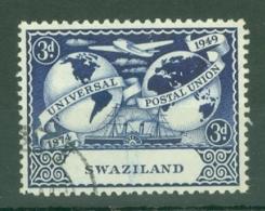 Swaziland: 1949   U.P.U.   SG49   3d   Used - Swaziland (...-1967)