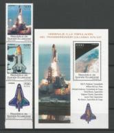 Guinea Equatorial 2004 Space Y.T. 453/455 + BF 19 ** - Guinée Equatoriale