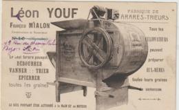 CPA  50 ST LO  LEON YOUF   FABRIQUE DE TARARES TRIEURS - Saint Lo