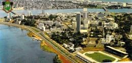 CPSM PANORAMIQUE COTE D IVOIRE - Ivory Coast