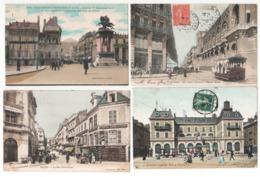 Lot 1 De 118 Cartes Postales Couleurs : 70 Animées+ 48 Vues , Tous Les Visuels Dans L'annonce - Postcards