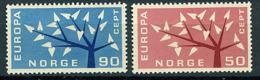 Norvège ** N° 433/434- Europa 1962 - 1962