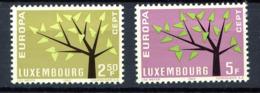 Luxembourg ** N° 612/613- Europa 1962 - 1962