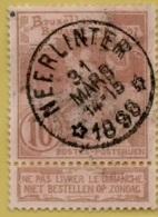 +MW-4515     *   NEERLINTER   *   OCB 72  Sterstempel     COBA   + 15      ZELDZAAM OP DEZE UITGIFTE - 1894-1896 Expositions