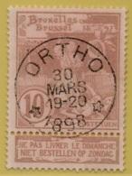 +MW-4518     *   ORTHO   *   OCB 72  Sterstempel     COBA   + 15      ZELDZAAM OP DEZE UITGIFTE - 1894-1896 Expositions