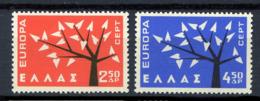Grèce** N° 774/775 - Europa 1962 - 1962