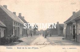 Bout De La Rue D'Ypres - Staden - Staden