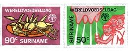 Ref. 123716 * MNH * - SURINAME. 1984. WORLD FOOD DAY . DIA MUNDIAL DE LA ALIMENTACION - Crustaceans