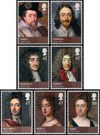 GRANDE-BRETAGNE Dynastie Stuart II 7v 2010 Neuf ** MNH - 1952-.... (Elizabeth II)