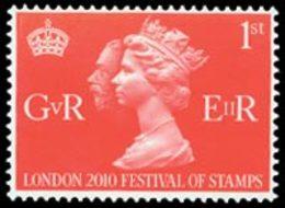 GRANDE-BRETAGNE Rois - 1er Timbre 1v - Expo London 2010 Neuf ** MNH - Nuovi
