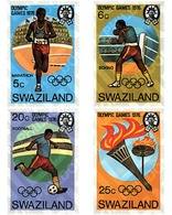Ref. 27725 * MNH * - SWAZILAND. 1976. GAMES OF THE XXI OLYMPIAD. MONTREAL 1976 . 21 JUEGOS OLIMPICOS VERANO MONTREAL 197 - Swaziland (1968-...)
