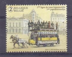 Belgie - 2019 - OBP  - **  150 Jaar - Eerste Paardentramlijn ** - Belgien