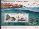 2010 Schweden Sverige   Mi. Bl. 34 **MNH  NORDEN - Leben Am Meer - Europa-CEPT