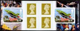 GRANDE-BRETAGNE Carnet Thunderbird, G.Anderson 2011 Neuf ** MNH - 1952-.... (Elizabeth II)