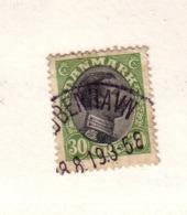 DANEMARK 1919/20  YVERT N°109  OBLITERE - 1913-47 (Christian X)